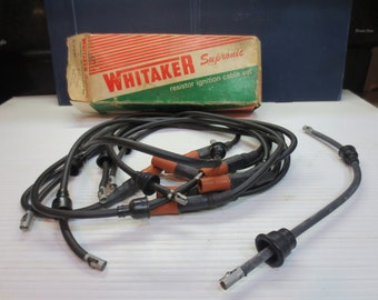 Vintage Whitaker Supronic Resistor Ignition Cable Set