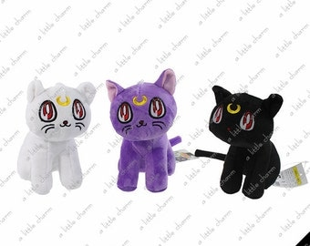 Sailor Moon Plush Dolls ~ Luna, Artemis, Diana