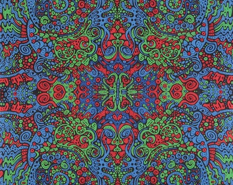 Psychedelic Liquid A tapestry 60 x 90