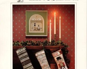 Christmas No 7 Kingsland Cross Stitch Patterns for Stockings 1990
