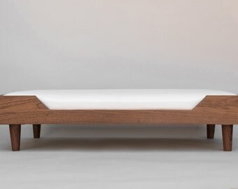 The Winston Dog Bed - Walnut