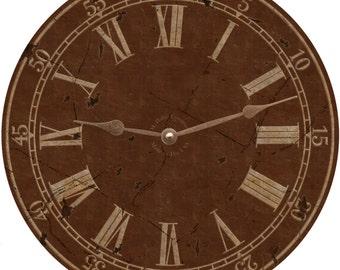 Brown Classic Clock