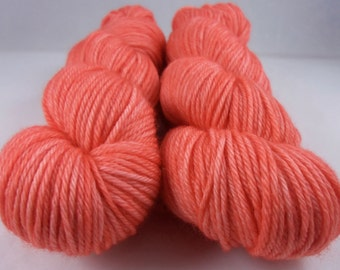 Poppy - Hand Dyed Superwash Merino Worsted Yarn
