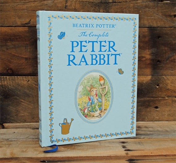 Book Safe - Peter Rabbit - Leather Bound Hollow Book Safe