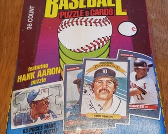 "1986 Donruss wax box 36 packs ""NICE"" BEST OFFERS Considered..."
