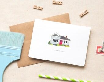 Housewarming Greeting Card  |  House