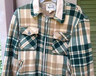 Mens Woolrich wool chore coat