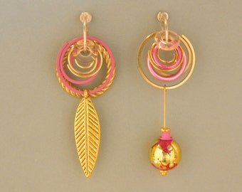 Asymmetric Earrings 1062