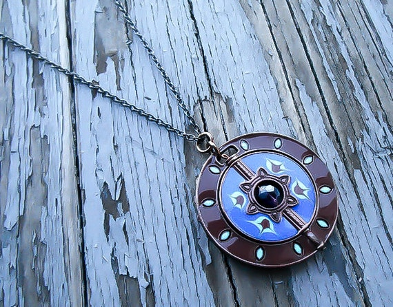 compass necklace nautical necklace steampunk by kingsfieldinn
