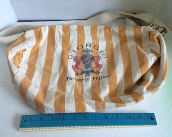1980s Giorgio Beverly Hills Authentic hobo bag