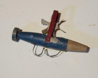 Unique Antique Wood Whistle