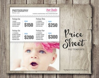 Wedding photography package pricing photographer price list for Wedding photo print packages