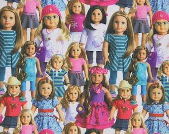 american girl doll fabric