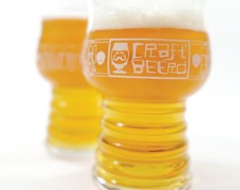 Beer Glass, Taster Glass, Glassware: Gift Set (2 Taster Glasses)