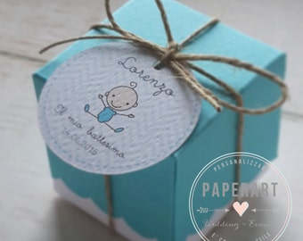 10 confection port compositions (box + tag + Twine)