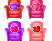50% OFF SALE Love chairs ...