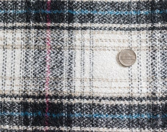 Wool Mohair Plaid