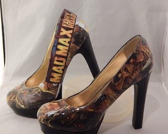 Mad Max Fury Road High Heels (us size 6)