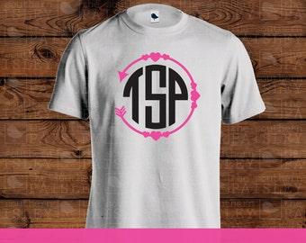 Valentine Arrow Monogram T-Shirt
