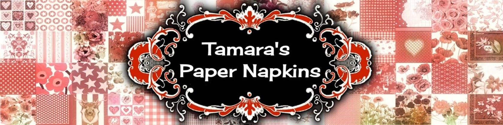 Paper Napkins For Sale Perfect For Decoupage By