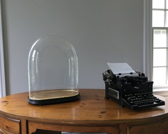 Victorian Crystal Display Dome