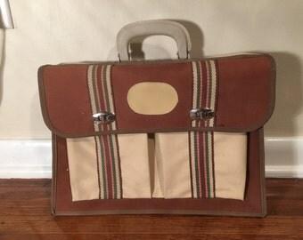 Vintage Canvas Messenger Bag