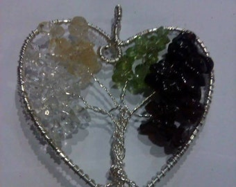 Mother's Family Gemstone Tree of Life ~ Made to Order