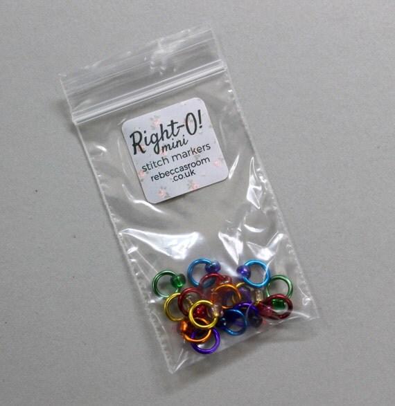 Knitting Supplies Uk : Mini stitch markers lace knitting supplies snag free
