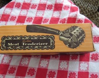 Bakelite Hostess Meat Tenderizer in original box vintage 1960's