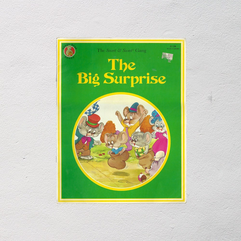 County Fair Children's Book The Big Surprise By by