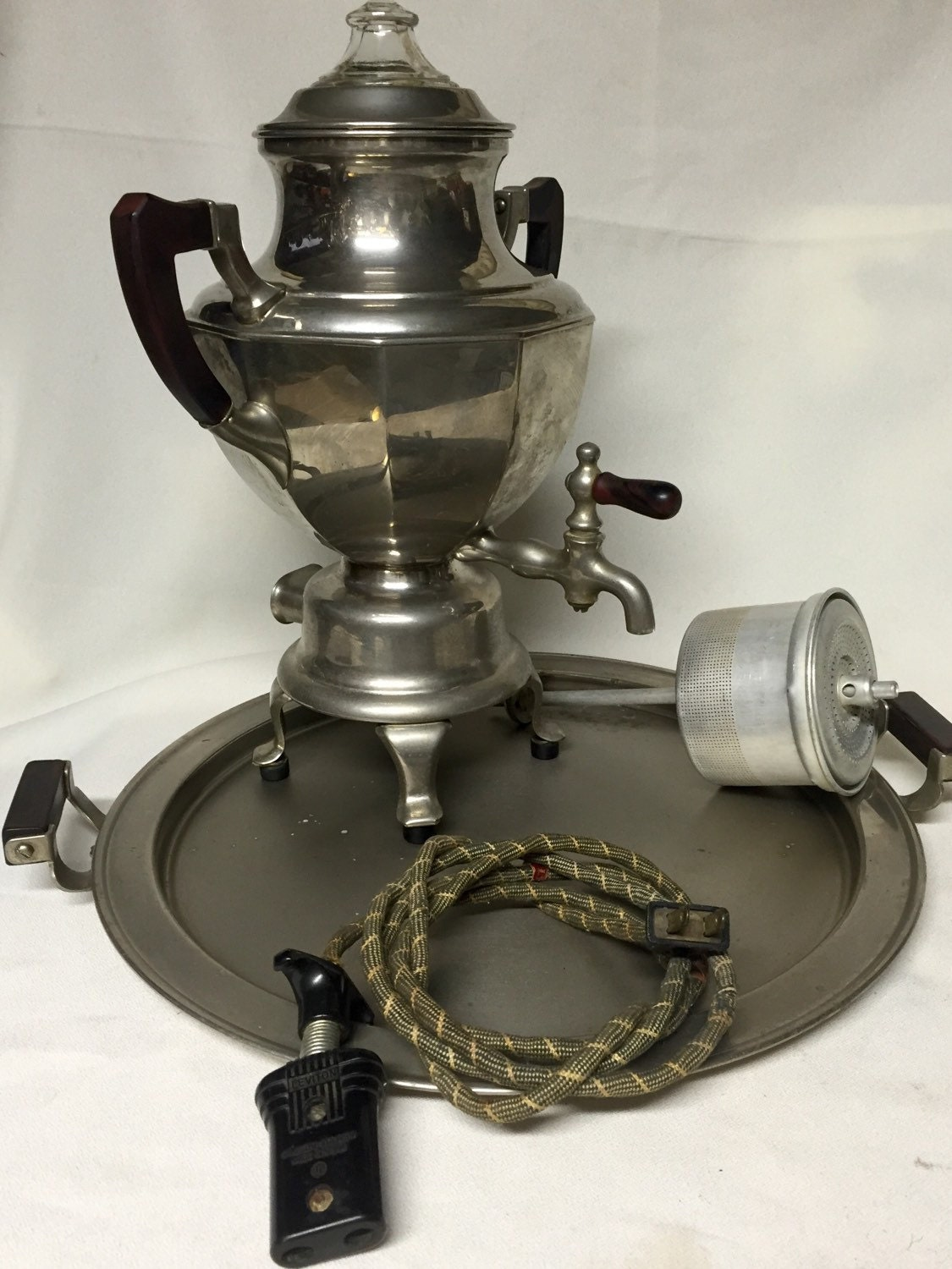 Vintage Coffee Percolator Manning Bowman And Co 1925