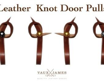 Leather Door / Drawer Pull / Handle