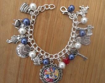 Childs Alice in Wonderland Charms Bracelet