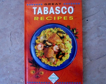 Tabasco Cookbook, Great Tabasco Recipes by McIlhenny Co, Vintage Cook Book