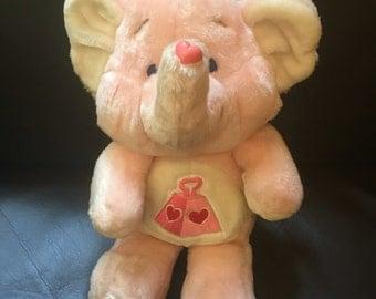 1984 kenner carebear cousin lotsa heart elephant