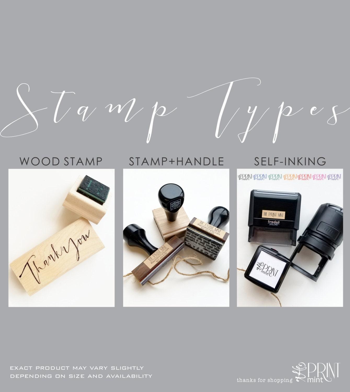 custom stamp custom logo stamp business card stamp personalized