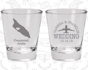 Aruba Shot Glass, Aruba Shot Glasses, Aruba Glass, Aruba Glasses, Aruba Glassware (153)