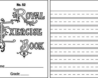 Mercantile Exclusive Stamp, Jenni Bowlin Studios, Royal Exercise Book Clear Stamp