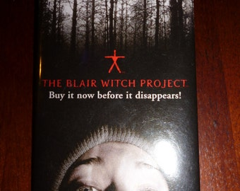 The Blair Witch Project. Promotional Movie/DVD pin/badge/button. Collectible