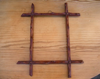 Antique Black Forest Frame