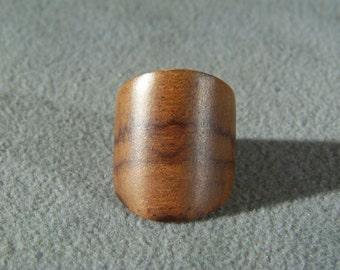 Vintage Bold Heavy Wood Bold Danish Modernistic Ring, Size 9 Jewelry Art Deco Style **RL