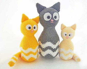 PDF Crochet Pattern for Amigurumi Crochet by HerterCrochetDesigns