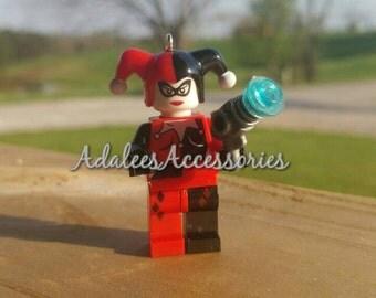 Harley Quinn Style Keychain