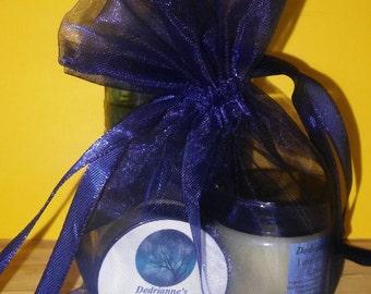 Lemon Face Cream & Peppermint Bentonite Mask Kit/Acne, chicken pox, rashes