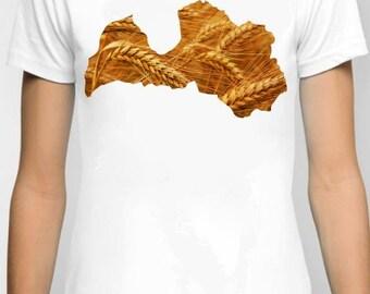 T-shirt Latvia