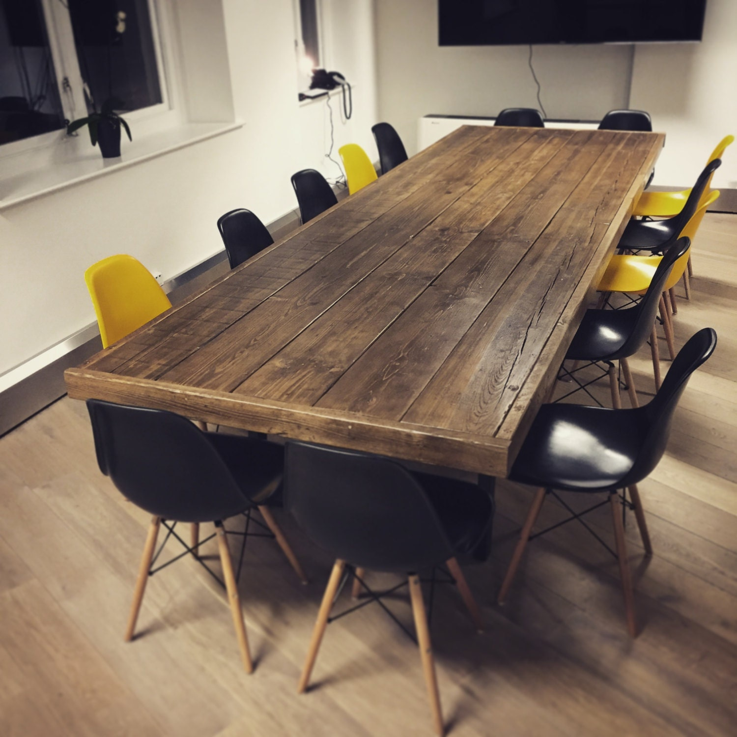 Reclaimed Wood Jules Boardroom Dining Table