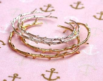 rustic twig bangle, branch bracelet, bridesmaid gift, twig bracelet, tree jewelry, branch jewelry, whimsical jewelry, woodland twig, twigs