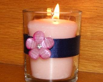 Bling candle holder | Etsy