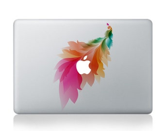 Macbook 13 inch decal sticker cactus flower and apple art for Apple Laptop