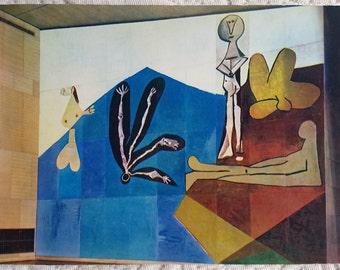 Vintage eighties Picasso postcard